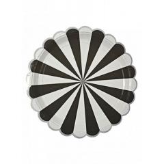 Πιάτο φαγητού TS Black Stripe - ΚΩΔ:124471-JP