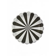 Πιάτο γλυκού TS Black Stripe - ΚΩΔ:124516-JP