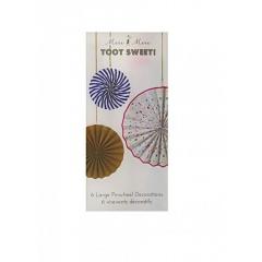 Βεντάλιες διακοσμητικές Toot Sweet - ΚΩΔ:45-1308-JP