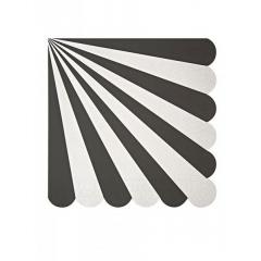 Χαρτοπετσέτα μεγάλη TS Black Stripe - ΚΩΔ:125173-JP