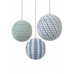Μπάλα διακοσμητική TS Blue - ΚΩΔ:125326-JP