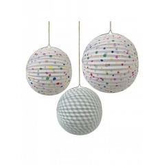 Μπάλα διακοσμητική TS Confetti - ΚΩΔ:125344-JP