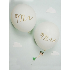 Mr & Mrs Balloon Card - ΚΩΔ:133750-JP
