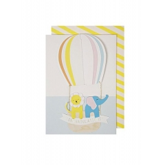 Hot Air Balloon Card - ΚΩΔ:134227-JP
