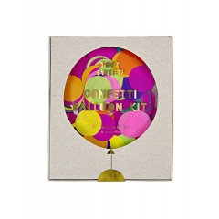 Multi color Confetti Balloon Kit (8τεμ) - ΚΩΔ:133012-JP
