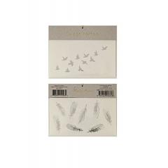 Tattoos feather - ΚΩΔ:45-1791-JP