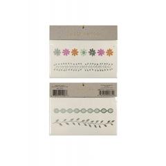 Tattoos floral & leaf - ΚΩΔ:45-1793-JP