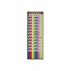 Κεράκια γενεθλίων πολύχρωμα - ΚΩΔ:134911-JP
