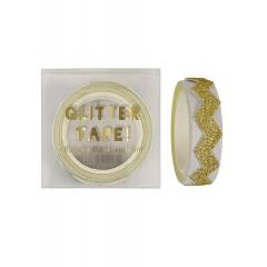 Αυτοκόλλητη Ταινία gold glitter chevron - ΚΩΔ:135199-JP