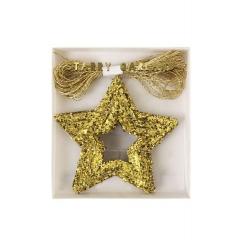 Γιρλάντα Χρυσά Αστέρια - ΚΩΔ:137782-JP