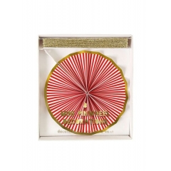 Χριστουγεννιάτικη γιρλάντα Pinwheel - ΚΩΔ:45-2014-JP