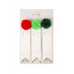 Χριστουγεννιάτικα καρτελάκια δώρων - ΚΩΔ:65-0172-JP