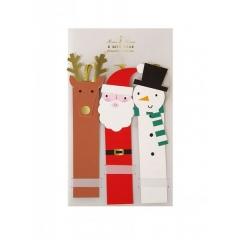 Χριστουγεννιάτικα καρτελάκια δώρων - ΚΩΔ:65-0174-JP