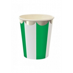 Ποτήρι Green stripe 8τμχ - ΚΩΔ:45-1548-JP