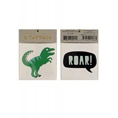 Τατουάζ Δεινόσαυροι 2τμχ - ΚΩΔ:45-1709-JP