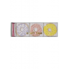 Doughnut Ετικέτες Δώρων 12τμχ - ΚΩΔ:45-1723-JP