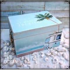 ΜΠΑΟΥΛΟ ΒΑΠΤΙΣΗΣ ΞΥΛΙΝΟ AS FREE AS THE OCEAN ΚΩΔ: OCEAN-BM