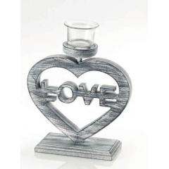 ΞΥΛΙΝΟ ΚΗΡΟΠΗΓΙΟ ΚΑΡΔΟΥΛΑ LOVE - ΚΩΔ:166-8779-MPU