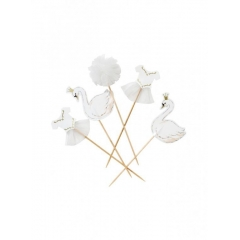 Cake Toppers We ♥ Swan - ΚΥΚΝΟΣ - ΚΩΔ:SWAN-TOPPERS-JP