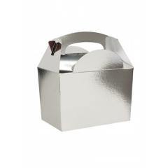 Party box σε ασημί μεταλικό χρώμα - ΚΩΔ:1-GS-505-JP