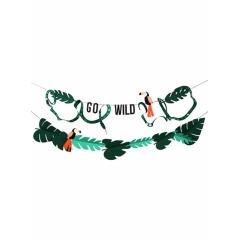 """ΓΙΡΛΑΝΤΑ ΜΕ ΖΩΑ ΤΗΣ ΖΟΥΓΚΛΑΣ """"GO WILD"""" - ΚΩΔ:171604-JP"""