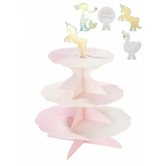 CAKE STAND WE LOVE PASTELS - ΚΩΔ:PASTEL-CAKESTAND-JP
