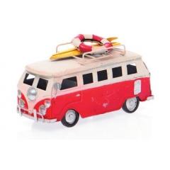 ΔΙΑΚΟΣΜΗΤΙΚΟ ΒΑΝΑΚΙ SURF ΚΟΚΚΙΝΟ 15,5x6,5x7,5CM-ΚΩΔ:82273-1-MAK