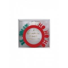 Δαχτυλίδι Πετσέτας Be Jolly Joy και Ho ho ho - ΚΩΔ:150031-JP
