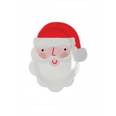 Χάρτινα πιάτα Άγιος Βασίλης - ΚΩΔ:162334-JP