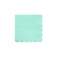 Χαρτοπετσέτα Μικρή στο χρώμα της Μέντας Mint - ΚΩΔ:181207-JP