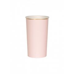 Χάρτινο Ποτήρι Ψηλό (Cocktail) 400ml - ΡΟΖ - ΚΩΔ:181243-JP