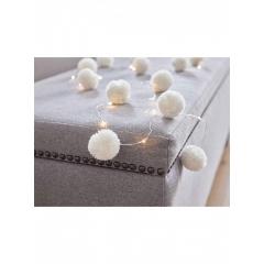Φωτάκια Λευκά Pom Pom - ΚΩΔ:ILLUM-LIGHT-POM-WHT-JP