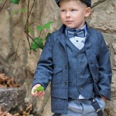 Βαπτιστικά Ρούχα  για Αγόρι Χειμώνας STOVA BAMBINI