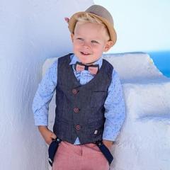 Βαπτιστικά Ρούχα για Αγόρι Άνοιξη-Καλοκαίρι  STOVA BAMBINI