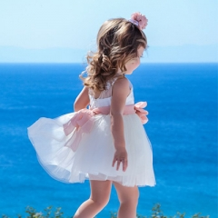 Βαπτιστικά Ρούχα για Κορίτσι Άνοιξη-Καλοκαίρι STOVA BAMBINI