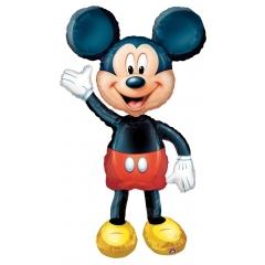 ΜΠΑΛΟΝΙ FOIL AIRWALKERS Mickey Mouse 132Χ96 cm – ΚΩΔ.:508318-BB
