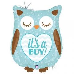 ΜΠΑΛΟΝΙ FOIL 66cm ΓΙΑ ΓΕΝΝΗΣΗ SUPERSHAPE «It's a Boy» ΚΟΥΚΟΥΒΑΓΙΑ – ΚΩΔ.:35158-BB