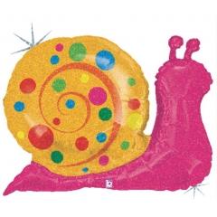 ΜΠΑΛΟΝΙ FOIL SUPER SHAPE ΠΟΛΥ ΧΑΡΙΤΩΜΕΝΟ ΣΑΛΙΓΚΑΡΙ HOLOGRAPHIC 68cm – ΚΩΔ.:85563-BB