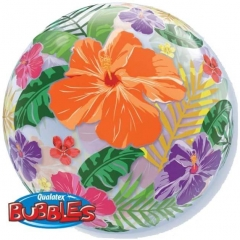 """ΜΠΑΛΟΝΙ FOIL 22""""(56cm) ΛΟΥΛΟΥΔΙΑ Bubble ΜΟΝΟ – ΚΩΔ.:13761-BB"""