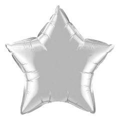 """ΜΠΑΛΟΝΙ FOIL 19""""(48cm) ΑΣΤΕΡΙ ΑΣΗΜΕΝΙΟ – ΚΩΔ.:206199-BB"""