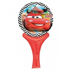 ΜΠΑΛΟΝΙ FOIL 38cm MINI SHAPE CARS DISNEY INFLATE-A-FUN – ΚΩΔ.:27026-BB