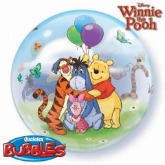 """ΜΠΑΛΟΝΙ FOIL 22""""(56cm) WINNIE THE POOH Bubble ΜΟΝΟ – ΚΩΔ.:33086-BB"""