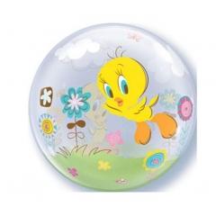 """ΜΠΑΛΟΝΙ FOIL 22""""(56cm) TWEETY Bubble ΜΟΝΟ – ΚΩΔ.:36847-BB"""