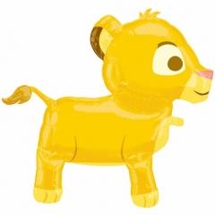ΜΠΑΛΟΝΙ FOIL AIRWALKERS Βασιλιάς Των Λιονταριών Σίμπα 76X68 cm – ΚΩΔ.:526368-BB