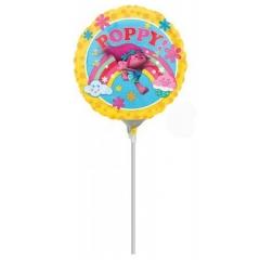 """ΜΠΑΛΟΝΙ FOIL MINI SHAPE 9""""(23cm) TROLLS POPPY – ΚΩΔ.:534268-BB"""