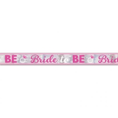 BANNER 'BRIDE TO BE' - ΚΩΔ:9900535-BB