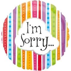 ΜΠΑΛΟΝΙ FOIL 43cm ΠΟΛΥΧΡΩΜΟ «I'm Sorry»– ΚΩΔ.:519346-BB