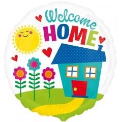 ΜΠΑΛΟΝΙ FOIL 43cm ΣΠΙΤΑΚΙ «Welcome Home»– ΚΩΔ.:533686-BB