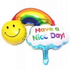 ΜΠΑΛΟΝΙ FOIL 75x115cm SUPER SHAPE ΗΛΙΟΣ ΚΑΙ ΟΥΡΑΝΙΟ ΤΟΞΟ «Have a Nice Day»– ΚΩΔ.:85649-BB