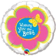 ΜΠΑΛΟΝΙ FOIL 45cm «Wishing You The Best» ΛΟΥΛΟΥΔΙ  – ΚΩΔ.:99094-BB